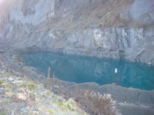 Closer to the quarry than we should have been