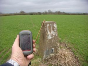 Hunger Hill trig point