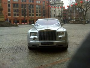 Rolls Royce Phantom by the Town Hall