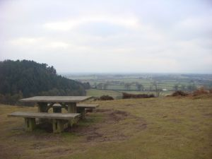 Nice views from the top of The Cliffe