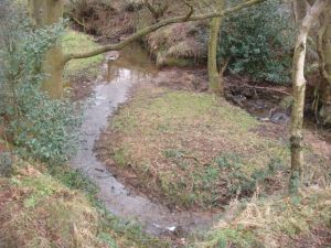 Lovely brook next to one of the Sheepwash caches