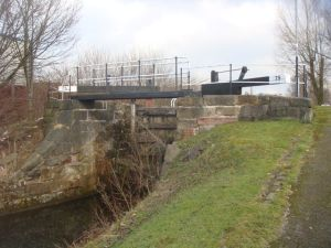 Lock 75 on the Rochdale Canal