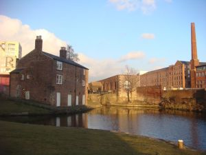 View of the Ancoats locks