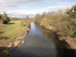 Looking down the River Dee