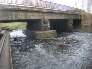Railway crosses the River Tame