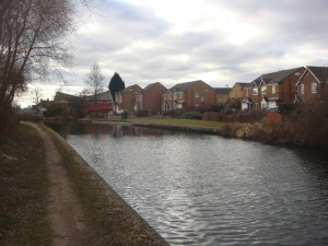 Brum and Fazeley canal