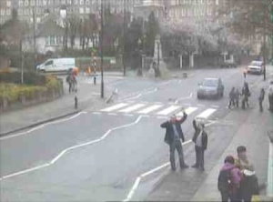 Our Abbey Road webcam picture