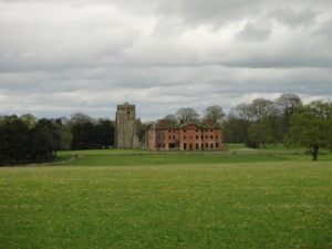 Ranton Abbey, seen from part way round my walk