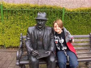 Isaac with L.S. Lowry