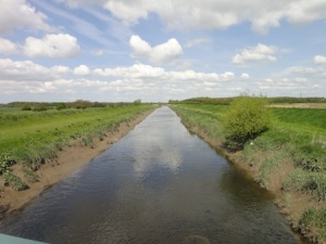 The River Douglas, by my favourite cache of the Croston series