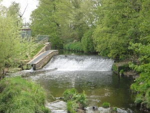 Lovely weir near to one of the caches