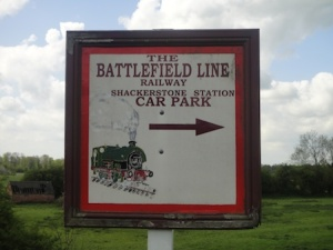 Battlefield Line old railway - looks great with lots of old diesel locos going up and down the old tracks