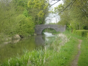 The very pretty canal section of the walk
