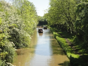 A beautiful day to be out on the canal