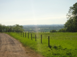 That's Birmingham city centre over there in the distance