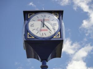 Hilton Millennium Clock