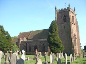 St Swithun's in Cheswardine