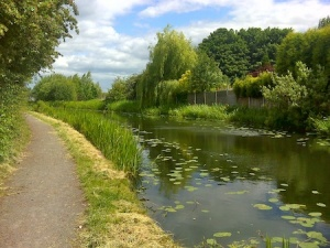 A very pretty stretch of canal near Bloxwich - I DNF'd the cache though