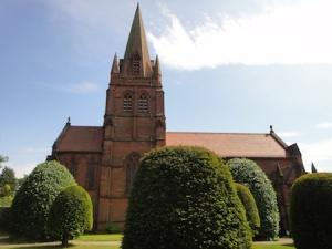 Beautiful old church at Thurstaston