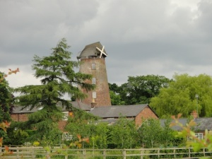 Old windmill turned into a house in Willaston
