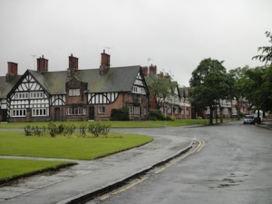 In lovely Port Sunlight