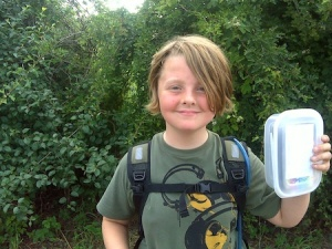 Isaac with the York Mega Series bonus cache