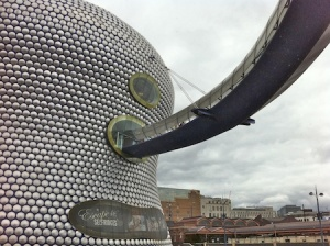 The very lovely Selfridges building in the city centre, close to where I parked