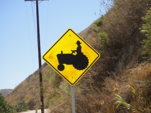 "Love the graphics on this sign - a ""really"" rural farmer ;-)"