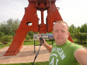 The Earthcache at an old steam hammer near Telford