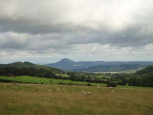 Views over to The Wrekin from the latter part of the gFab walk
