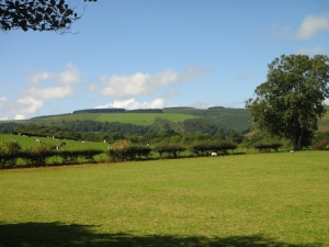 Views over to the Long Mynd from the Marshbrook walk
