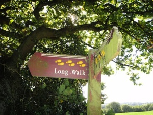 It's a Long Walk ;-)