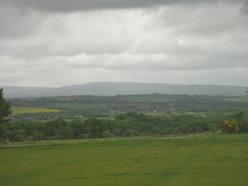 Moody skies looking over towards Winter Hill